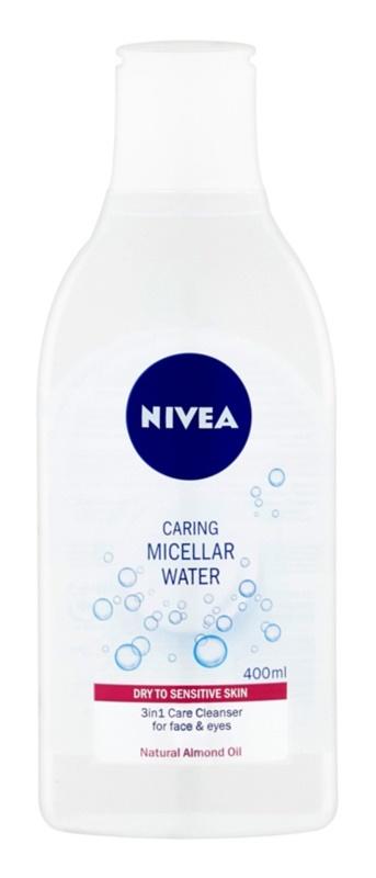 Nivea Face jemná pečující micelární voda pro suchou až citlivou pleť