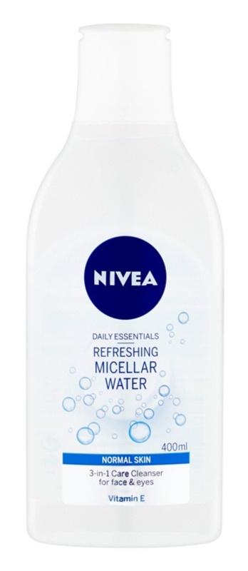 Nivea Face agua micelar refrescante  para pieles normales