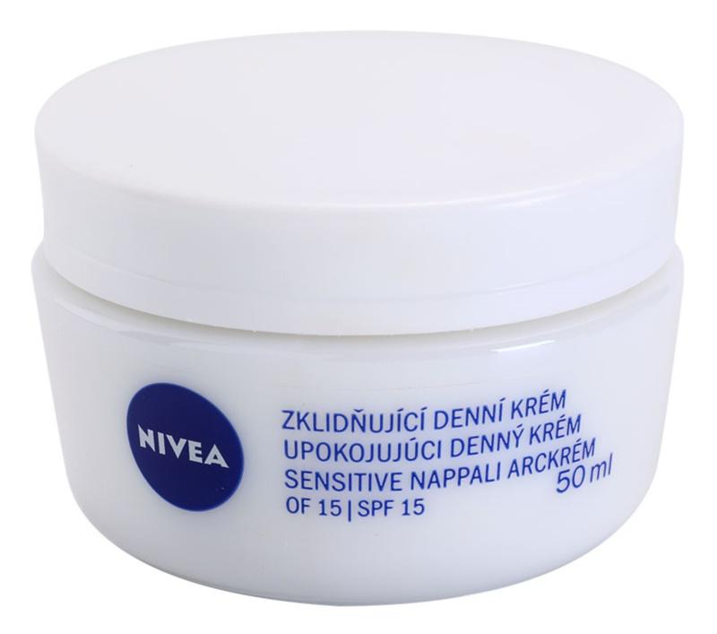 Nivea Face crema de día calmante  para pieles sensibles