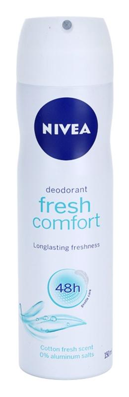 Nivea Fresh Comfort Deodorant Spray