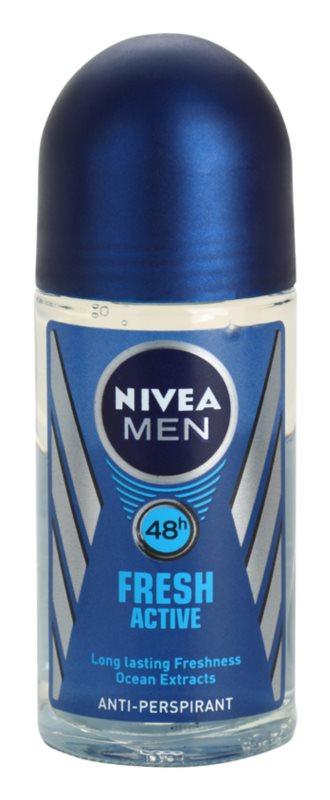 Nivea Men Fresh Active Roll-On Antiperspirant for Men