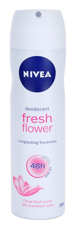Nivea Fresh Flower deodorant ve spreji