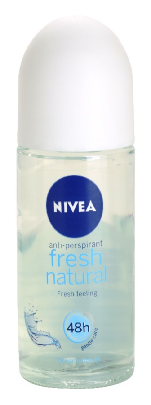 Nivea Fresh Natural Antiperspirant Roll-On