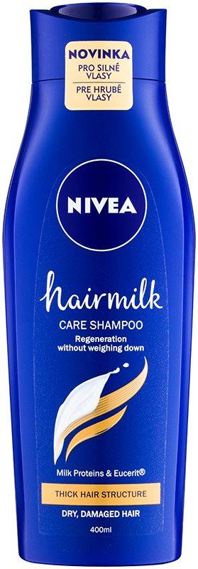 Nivea Hairmilk Pflegeshampoo für kräftiges und widerspenstiges Haar