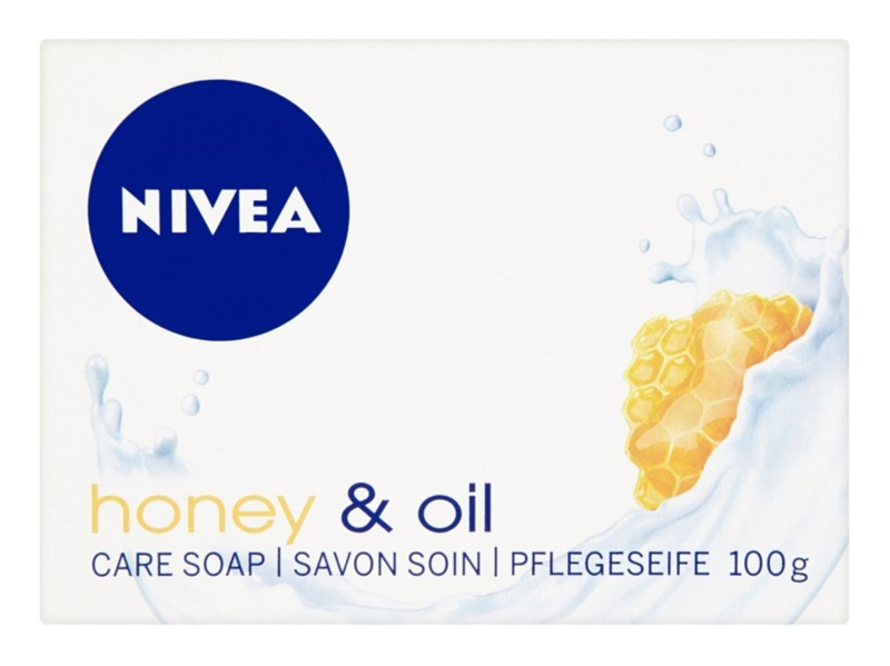 Nivea Honey & Oil mydło w kostce