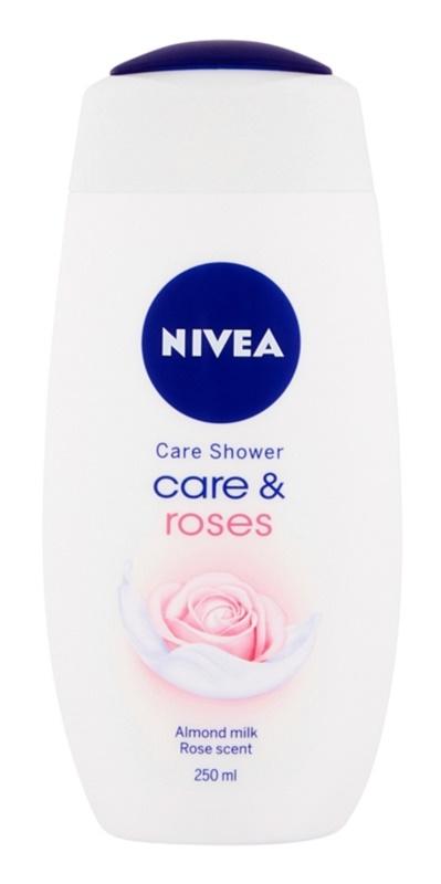Nivea Care & Roses Caring Shower Gel