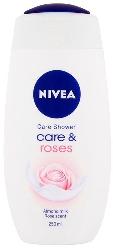 Nivea Care & Roses pečující sprchový gel