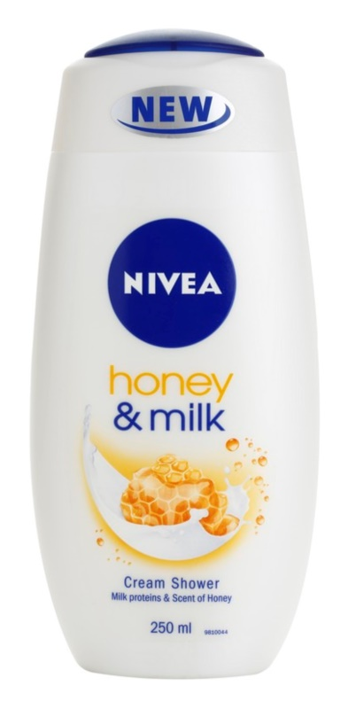Nivea Honey & Milk gel de ducha en crema