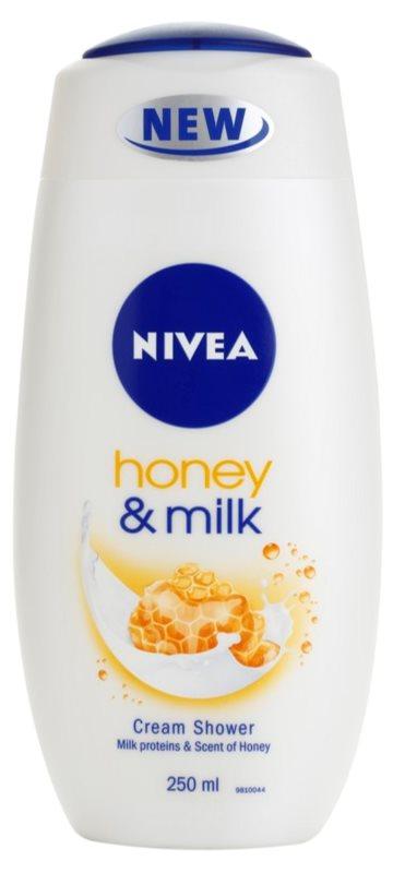 Nivea Honey & Milk krémový sprchový gél