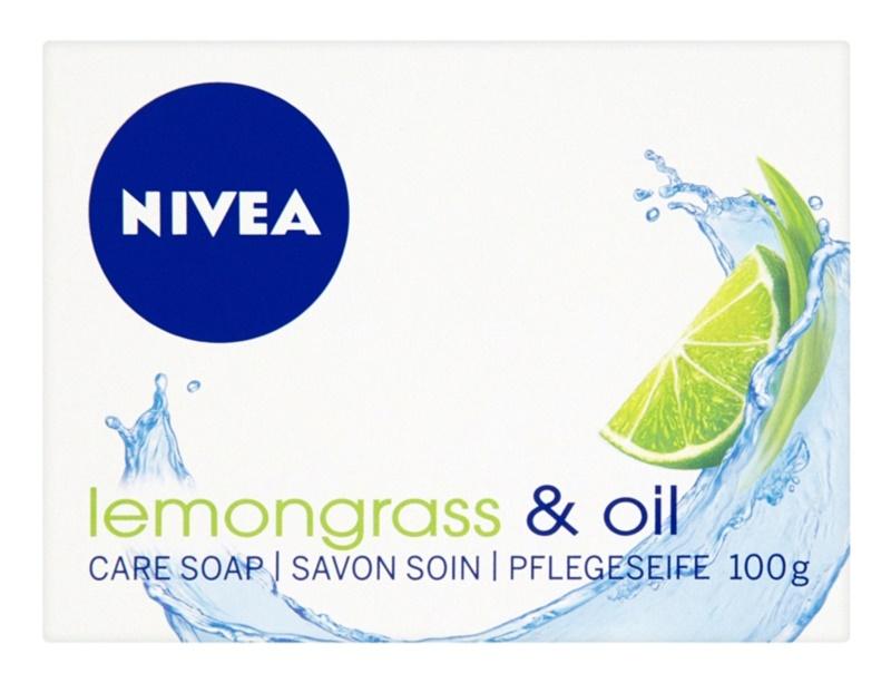 Nivea Lemongrass & Oil tuhé mýdlo