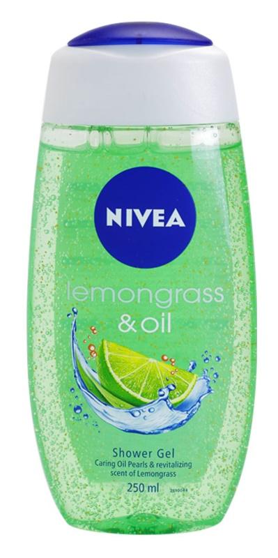 Nivea Lemongrass & Oil gel de dus
