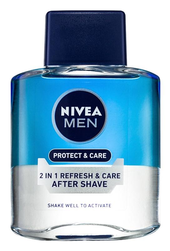 Nivea Men Protect & Care lotion après-rasage