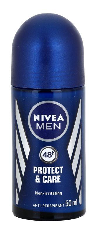 Nivea Men Protect & Care antiperspirant roll-on pentru barbati