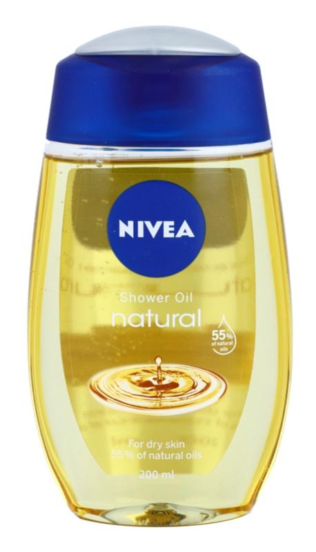Nivea Natural Oil olje za prhanje za suho kožo
