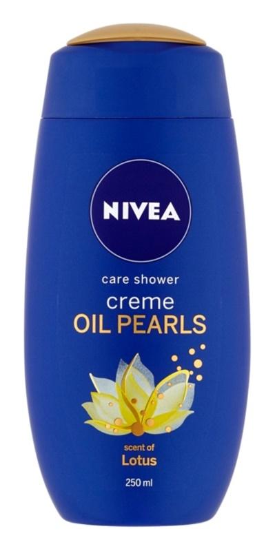 Nivea Creme Oil Pearls pielęgnacyjny żel pod prysznic