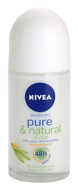 Nivea Pure & Natural dezodorant w kulce