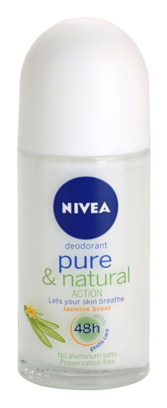 Nivea Pure & Natural Roll-On Deodorant