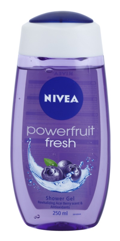 Nivea Powerfruit Fresh gel de duche