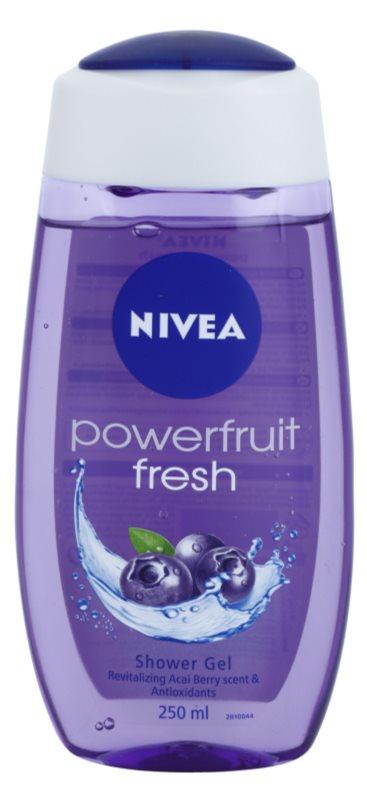 Nivea Powerfruit Fresh gel de dus