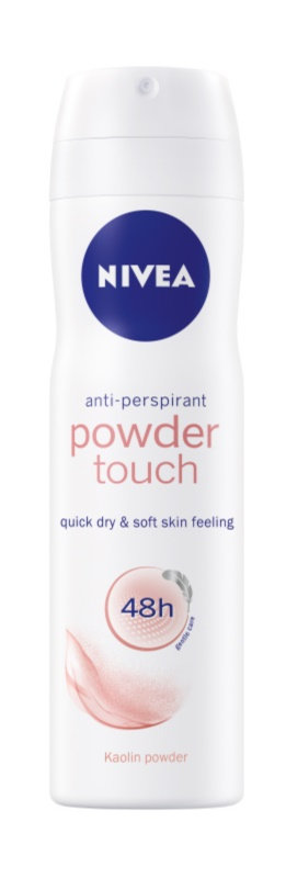 Nivea Powder Touch spray anti-perspirant