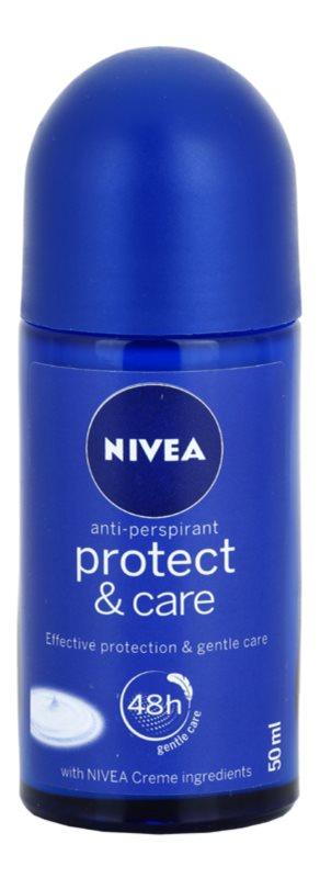 Nivea Protect & Care antiperspirant roll-on pentru femei