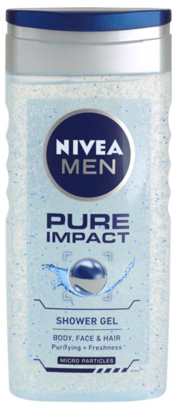 Nivea Men Pure Impact gel de duche