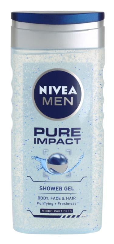 Nivea Men Pure Impact gel de dus