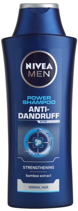 Nivea Men Power szampon przeciwłupieżowy do włosów normalnych