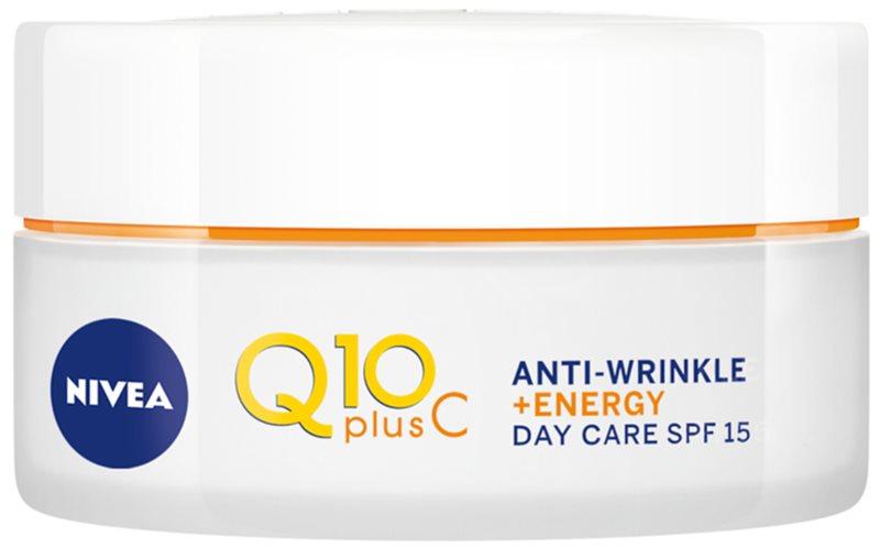 Nivea Q10 Plus C crema de día energizante antiarrugas
