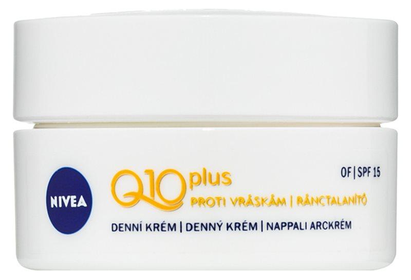 Nivea Q10 Plus Anti-Wrinkle Day Cream SPF 15