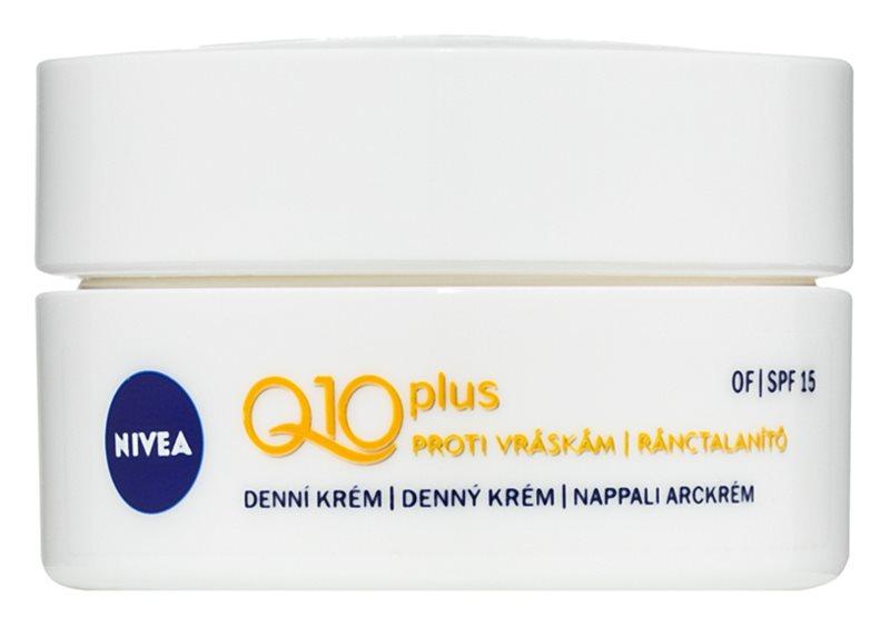 Nivea Q10 Plus dnevna krema proti gubam SPF 15