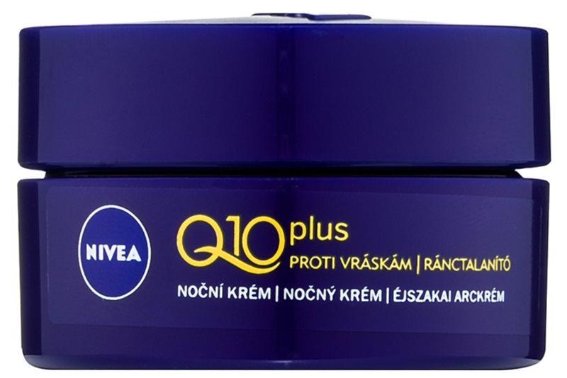 Nivea Q10 Plus krem na noc przeciw zmarszczkom