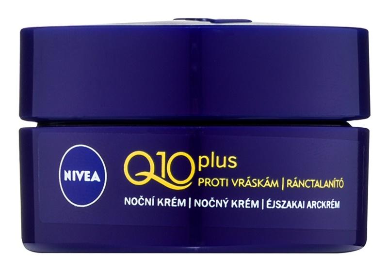 Nivea Q10 Plus noční krém proti vráskám