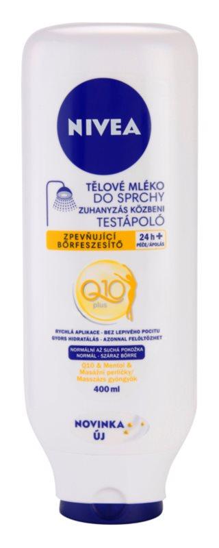 Nivea Q10 Plus mleczko do ciała pod prysznic