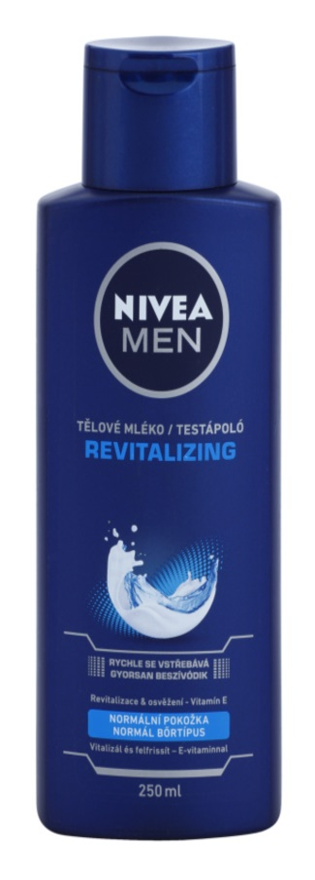 Nivea Men Revitalizing leite corporal para homens