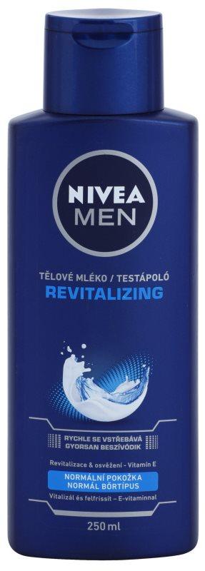 Nivea Men Revitalizing telové mlieko pre mužov
