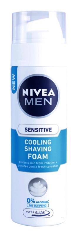 Nivea Men Sensitive pianka do golenia z efektem chłodzącym