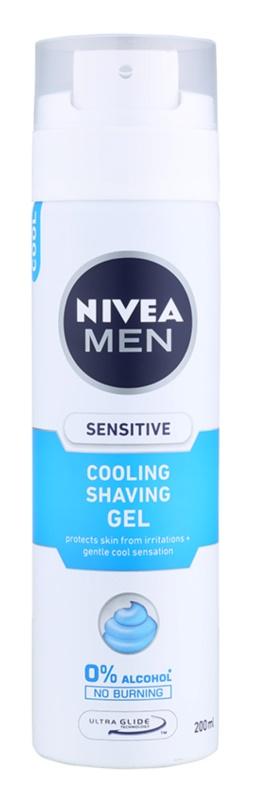 Nivea Men Sensitive gel za britje s hladilnim učinkom