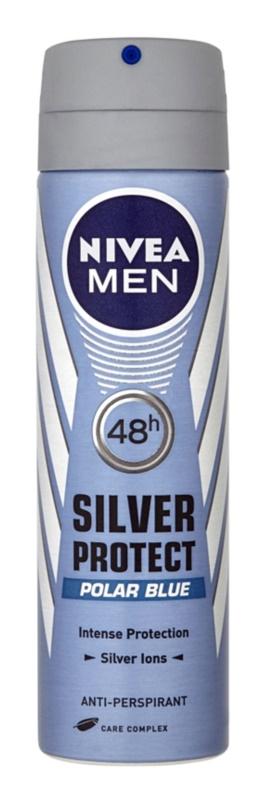 Nivea Men Silver Protect antitranspirante em spray