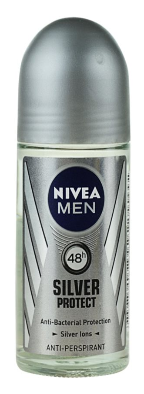 Nivea Men Silver Protect antitraspirante roll-on per uomo
