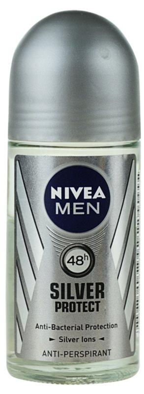 Nivea Men Silver Protect кульковий антиперспірант для чоловіків