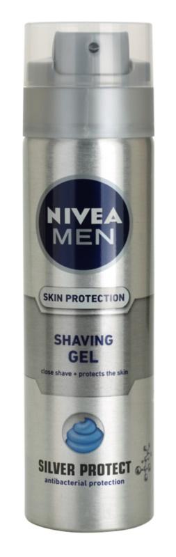 Nivea Men Silver Protect gel na holení