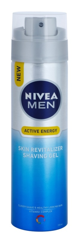 Nivea Men Skin Energy gel de afeitar