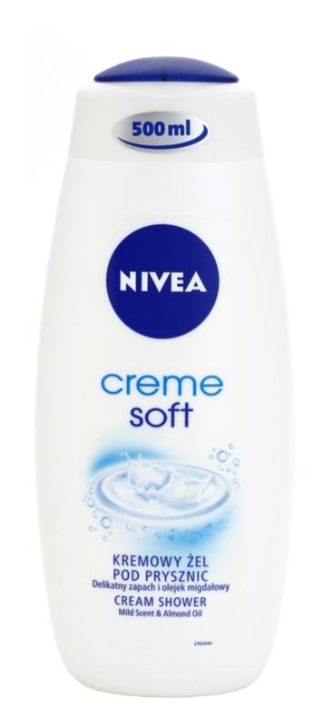 Nivea Soft gel de duche cremoso