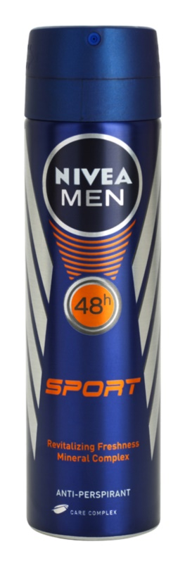 Nivea Men Sport antitranspirantes em spray