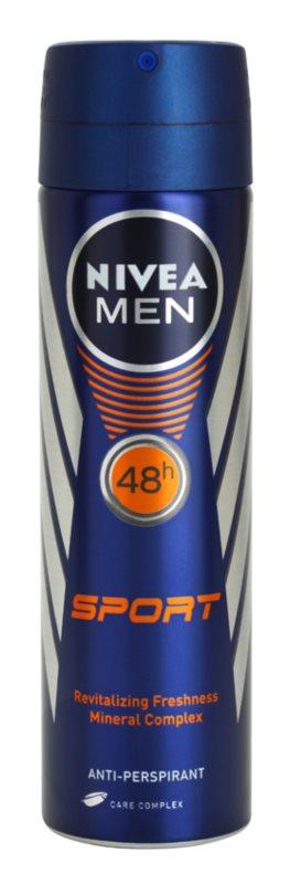 Nivea Men Sport антиперспирант в спрей