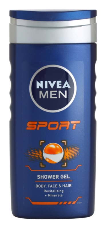 Nivea Men Sport Shower Gel for Face, Body and Hair