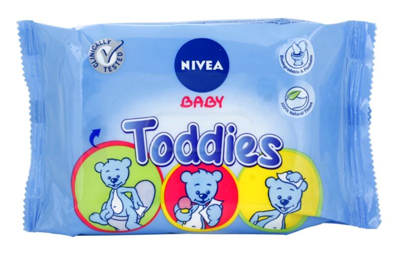 Nivea Baby Toddies čisticí ubrousky pro děti