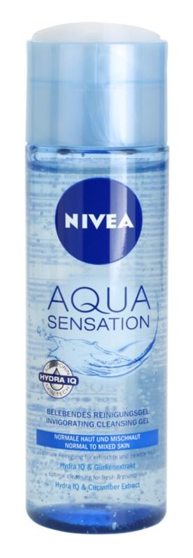 Nivea Visage Aqua Sensation Cleansing Gel for Normal and Combination Skin