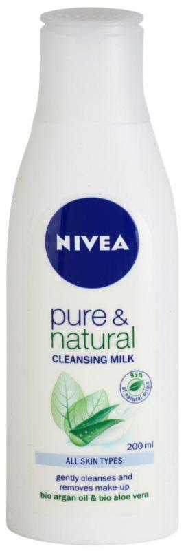 Nivea Visage Pure & Natural Hautreinigungsmilch